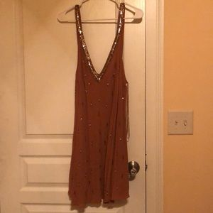Free People embellished slip.